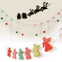 크리스마스 가랜드 홈파티/크리스마스장식 모음