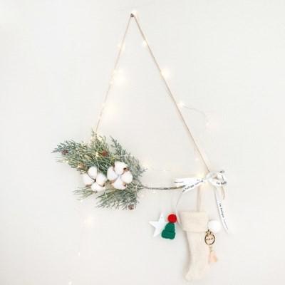 크리스마스는 양말이지 톰슨 크리스마스 가랜드