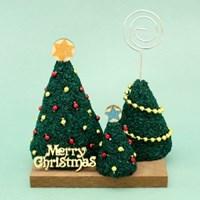 [에코키즈] 콜크클레이공예-크리스마스 트리 메모꽂이