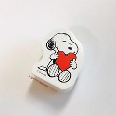 [스누피 스탬프] Snoopy with Big Heart