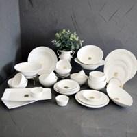 로얄킴스6인32p홈세트(화이트) / 신혼 북유럽 도자기 그릇 식기 홈