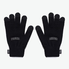 ARCH LOGO SMART GLOVES (BLACK)_(401041702)