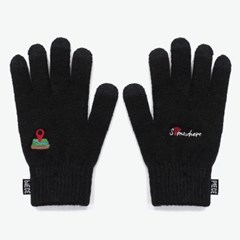 SOMEWHERE SMART GLOVES (BLACK)_(401041694)