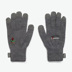 SOMEWHERE SMART GLOVES (GREY)_(401041693)