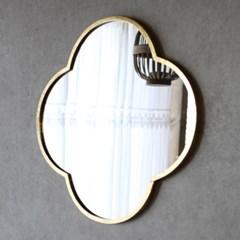 골드라인 클로버 거울