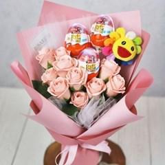 해바라기 인형 킨더조이 비누 꽃다발 졸업식 재롱잔치 학예회