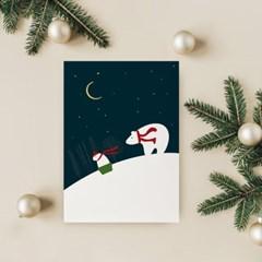 크리스마스 소품 인테리어액자 _ 한 겨울이 왔다