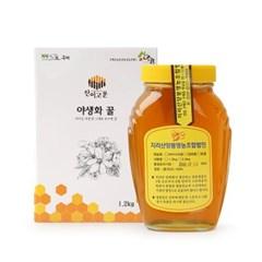 남도장터/지리산양봉 야생화꿀 2.4kg