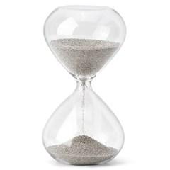 아요시 3분 모래시계 실버_(1262664)