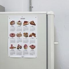dessert canvas calendar (2size)