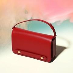 GGUMMINI Leather Mini bag bitz red
