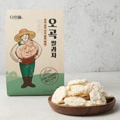 남도장터/쌍지뜰 오곡 건강 현미 쌀과자 70g