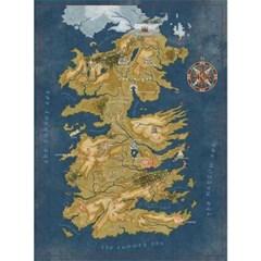 왕좌의게임 굿즈 1000 피스 퍼즐 (웨스테로스 지도)_(2592340)