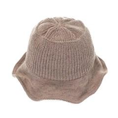 [플릭앤플록]RKU10.골지 니트 여성 벙거지 모자 버킷햇