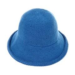 [플릭앤플록]RKU08.큰챙 와이어 니트 여성 벙거지 모자