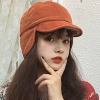 쉐이크 겨울 군밤 귀달이 방한 모자_(2295047)