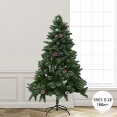 크리스마스 스노 빈터 화이트 크리스마스 트리 150cm_(2284926)