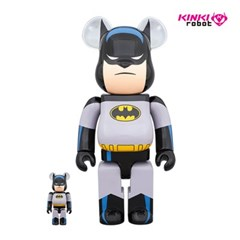 [KINKI ROBOT]400&100%BEARBRICK BATMAN ANIMATED SET(1911039)