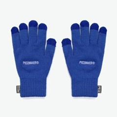 BASIC LOGO SMART GLOVES (BLUE)_(401044373)