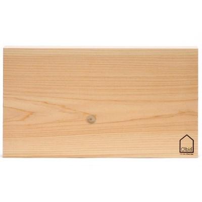 올비아 국내산 편백나무도마 대 옹이 44x24cm_(2752128)