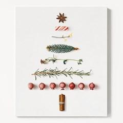 캔버스 인테리어 장식 벽트리 액자 크리스마스 트리 B