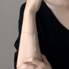 (92.5 silver) today mood bracelet