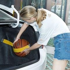 차량 트렁크 정리벨트 1개(색상랜덤)