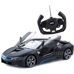 [박스스크래치 RC카] 1:14 BMW i8 블랙 (Open Door)