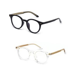 kami et muse inside two tone solid 12006 glasses