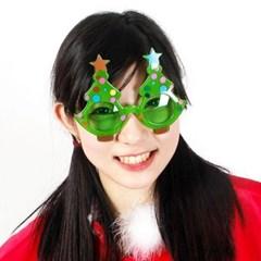크리스마스 트리 안경 [그린]_(11901921)