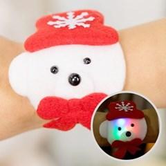크리스마스 도트무늬 점등 팔찌 [백곰]_(11902355)