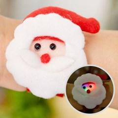 크리스마스 도트무늬 점등 팔찌 [산타]_(11902356)