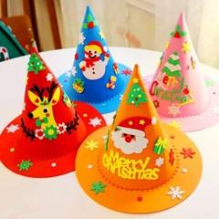 크리스마스 모자 만들기 교구세트 4개 1세트_(301768305)