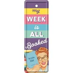 노스텔직아트[45045] My Week Is All Booked