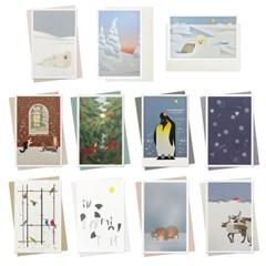 11 CARDS SET