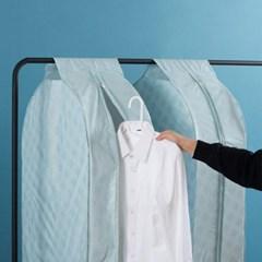 미니멀 방수 지퍼 옷커버 1개(색상랜덤)