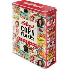 노스텔직아트[30330] Kelloggs - Corn Flakes Collage