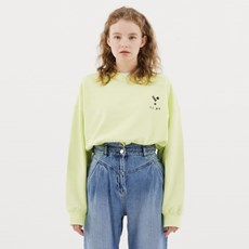 23.65 Logo Sweat Shirt Lime