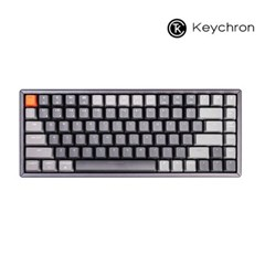 Keychron 게이밍 84키 기계식키보드 K2 RGB 알루미늄 다크그레이