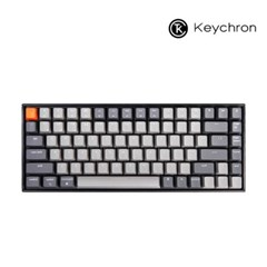 Keychron 게이밍 84키 기계식키보드 K2 RGB 라이트그레이
