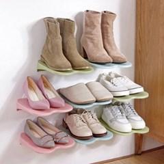 다용도 선반 신발정리대 1개(색상랜덤)