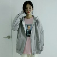napping simple zip-up (2colors)_(1406123)