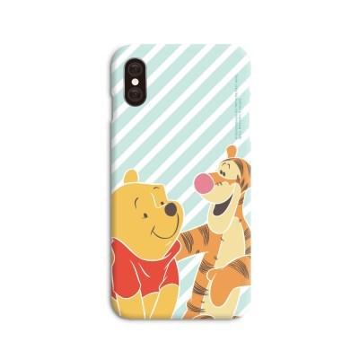 디즈니 곰돌이푸 파티 스마트폰 하드케이스 그린_(69174)