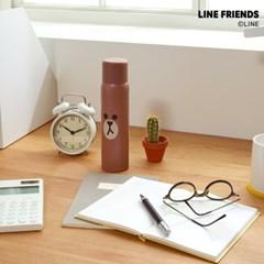 리틀히어로 디자인 소화기 - 브라운