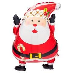 [원팩] 크리스마스 은박풍선 만세산타 44x65cm_(11907863)