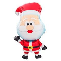 [원팩] 크리스마스 은박풍선 산타캐리커쳐 48x81cm_(11907862)