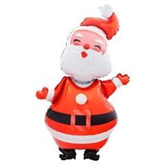 [원팩] 크리스마스 은박풍선 리얼산타 70x120cm_(11907858)