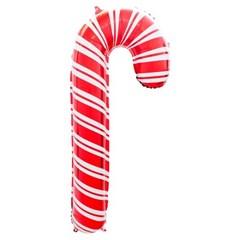 [원팩] 크리스마스 은박풍선 홀리데이캔디케인 41x84cm_(11907855)