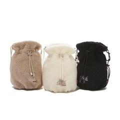 FLEECE BUCKET BAG (3 COLORS)_(1236392)