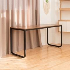 [리코베로] 라운딩 다용도 철제 책상 테이블 1500 2컬러